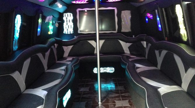 San Rafael 20 Passenger Party Bus