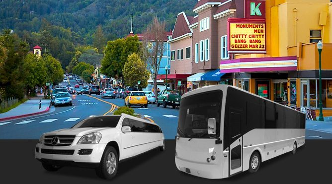 san rafael limo services in larkspur