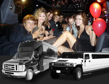 San Rafael Birthday Party Limousine Service