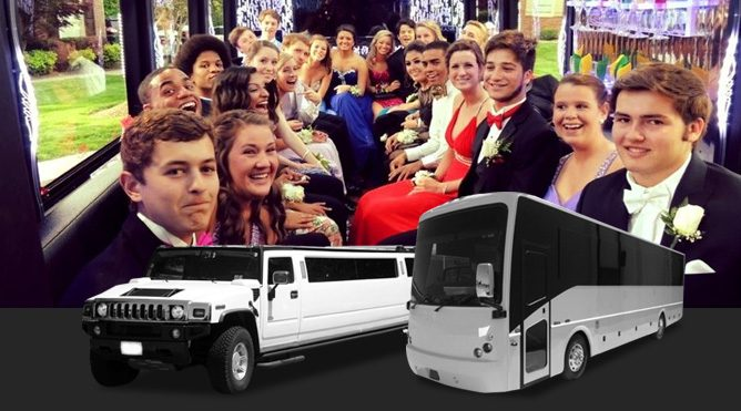 San Rafael Prom limousine