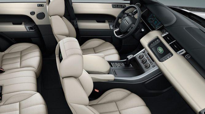 San Rafael Range Rover SUV Rental