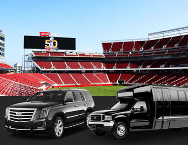 San Rafael sports events limousine service