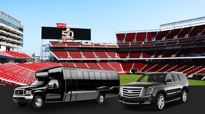 San Rafael sports events limousine service